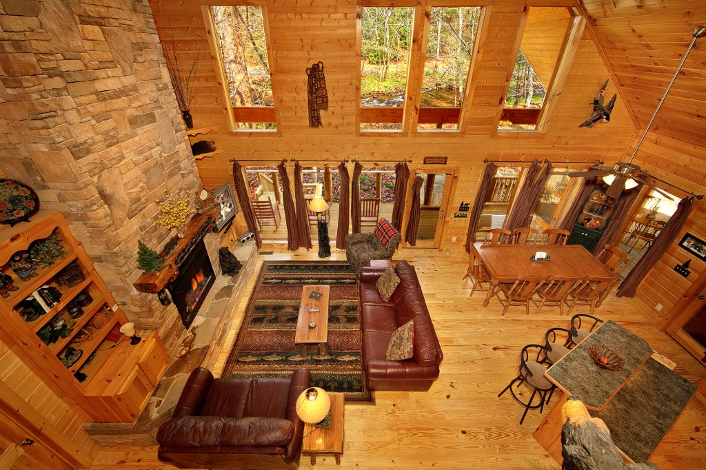 Photo of a Gatlinburg Cabin named Creeksong - This is the seventeenth photo in the set.