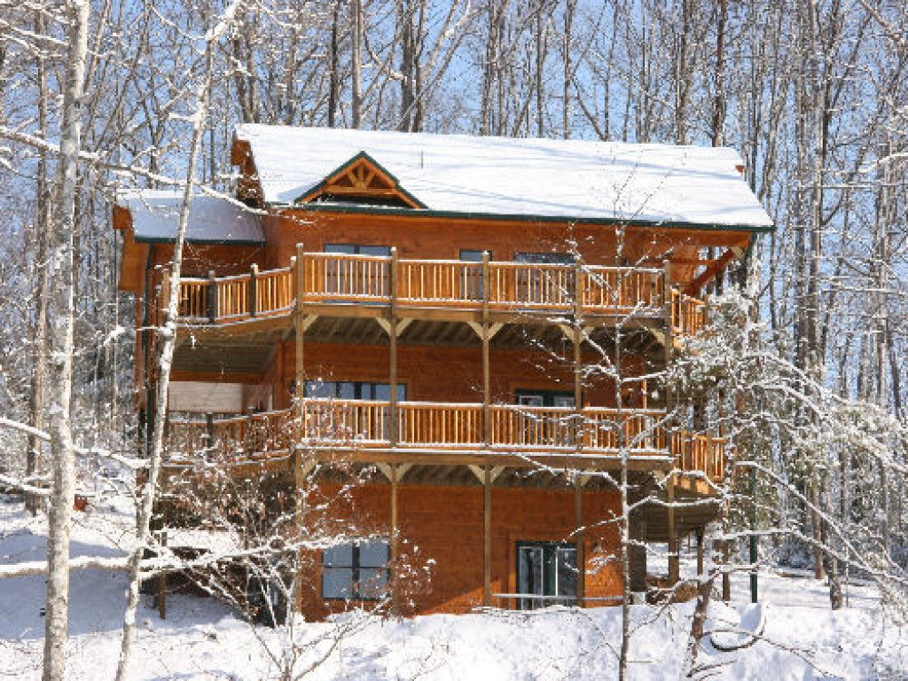 Photo of a Gatlinburg Cabin named Majestic Views - This is the first photo in the set.