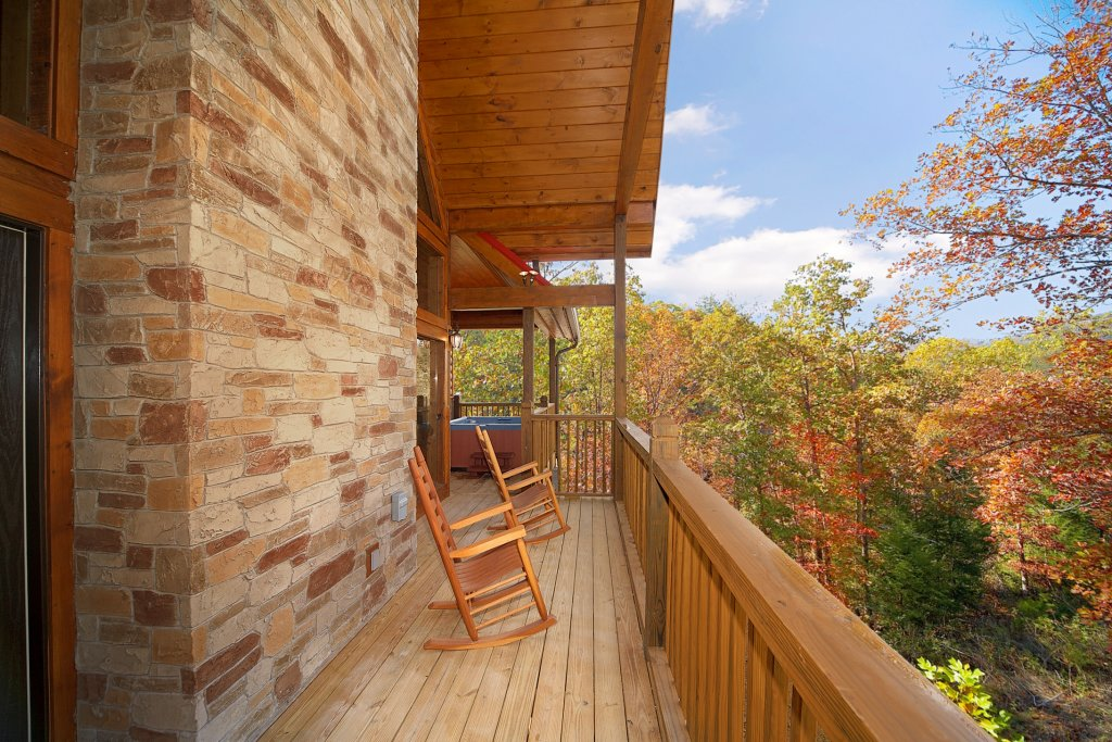 Photo of a Gatlinburg Cabin named Firefly Lodge - This is the second photo in the set.