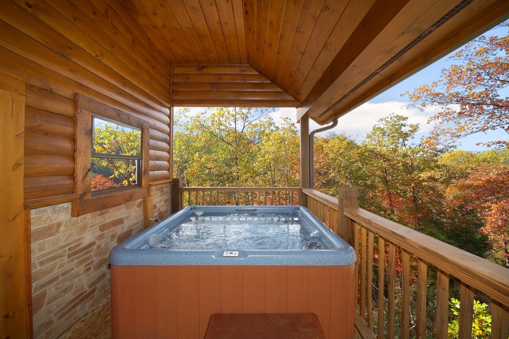 Photo of a Gatlinburg Cabin named Firefly Lodge - This is the third photo in the set.