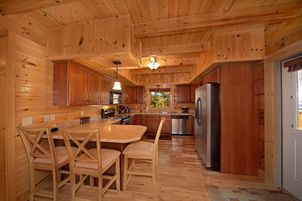 Photo of a Gatlinburg Cabin named Silvercreek - This is the eighth photo in the set.