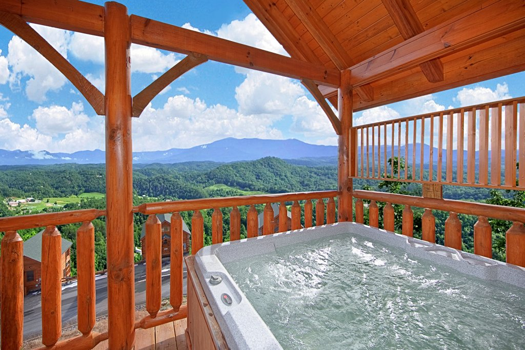 Photo of a Pigeon Forge Cabin named Heavenly Views (#97) - This is the third photo in the set.