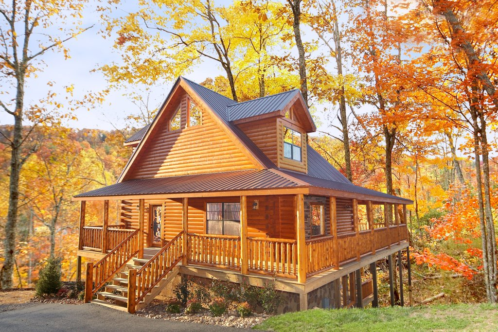 Living in paradise cabin in sevierville w 3 br sleeps8 for Rent cabin smoky mountains
