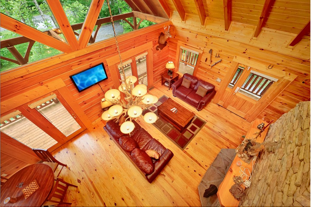 Photo of a Gatlinburg Cabin named Magic Moments - This is the fifth photo in the set.