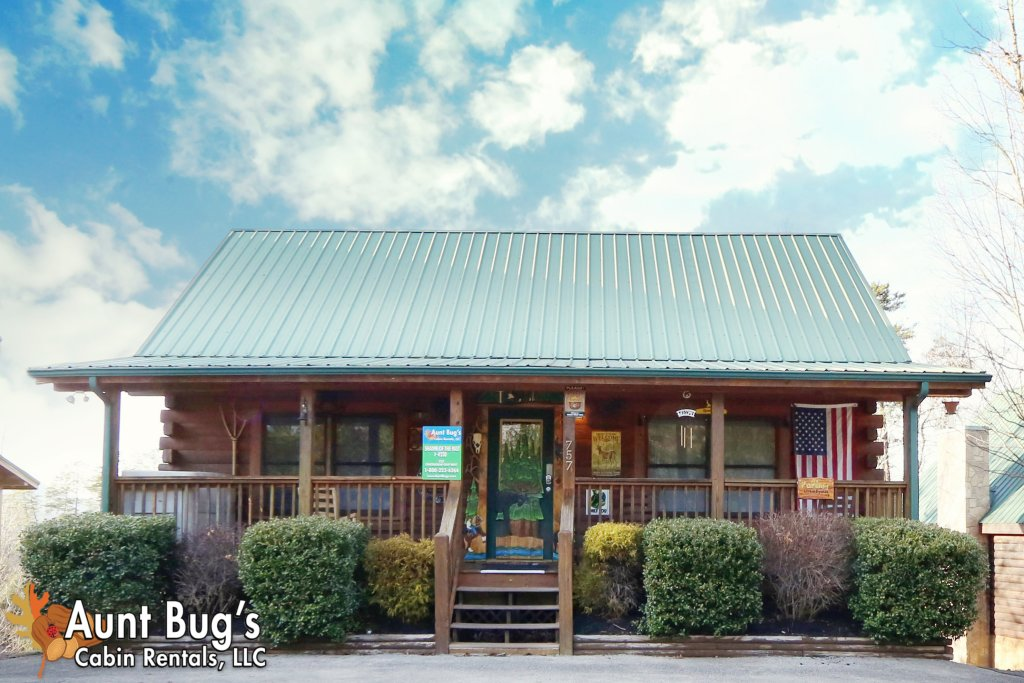 Photo of a Pigeon Forge Cabin named Shades Of The Past #230 - This is the first photo in the set.