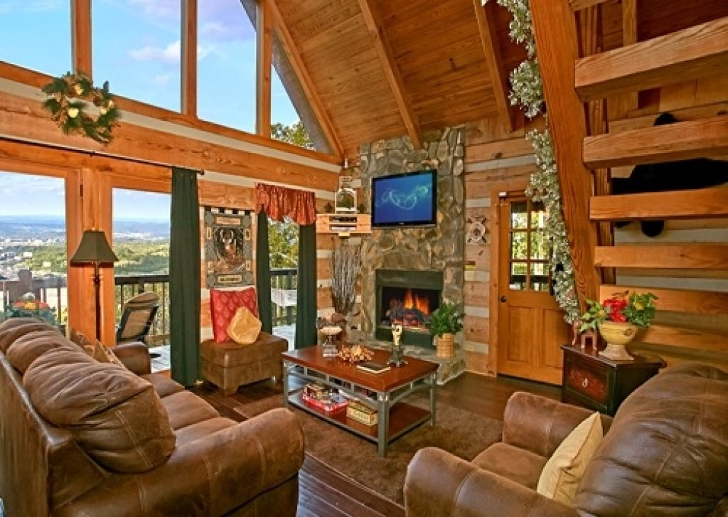 Photo of a Gatlinburg Cabin named Eagle's View - This is the eighth photo in the set.