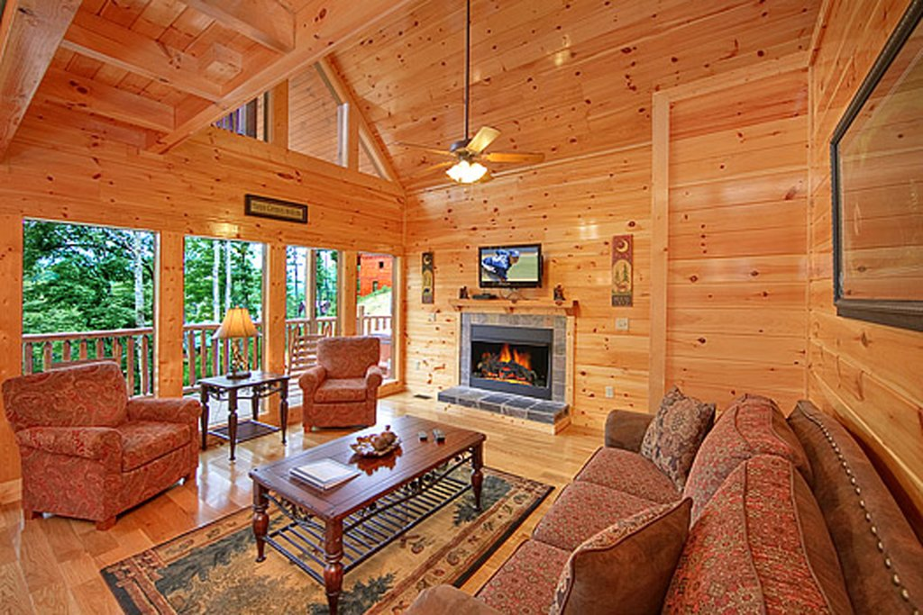 Photo of a Gatlinburg Cabin named Hilltop Hideaway - This is the seventh photo in the set.
