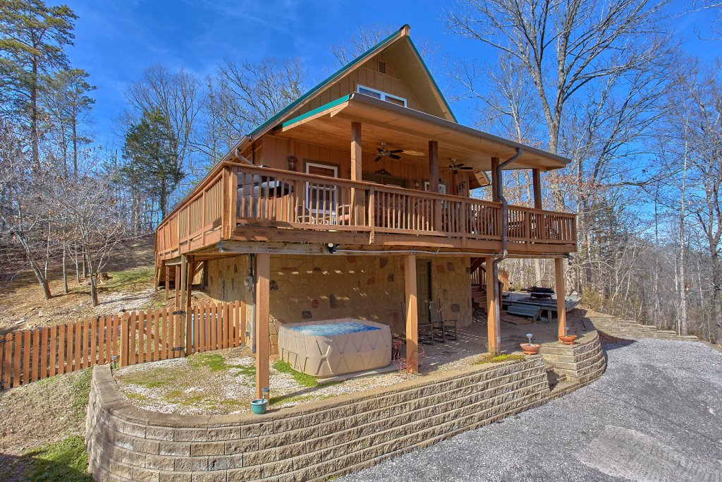 Photo of a Pigeon Forge Cabin named Gettin Cozy - This is the sixth photo in the set.