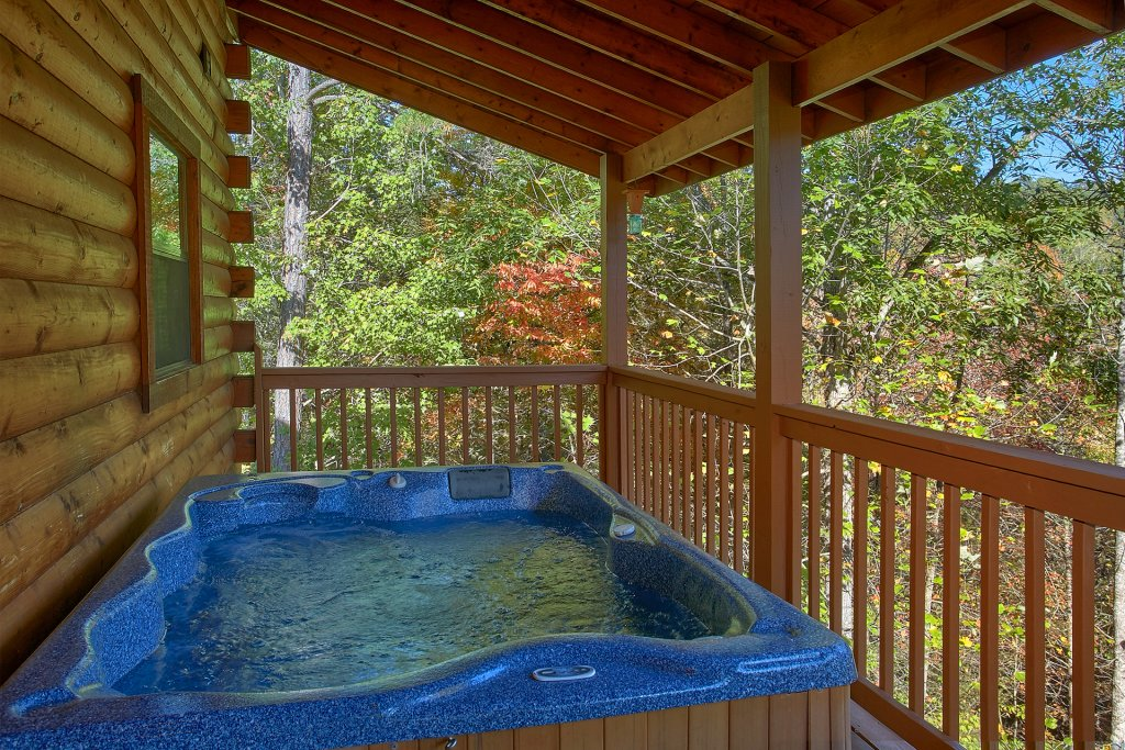 Photo of a Gatlinburg Cabin named Bear Splash #409 - This is the fifth photo in the set.