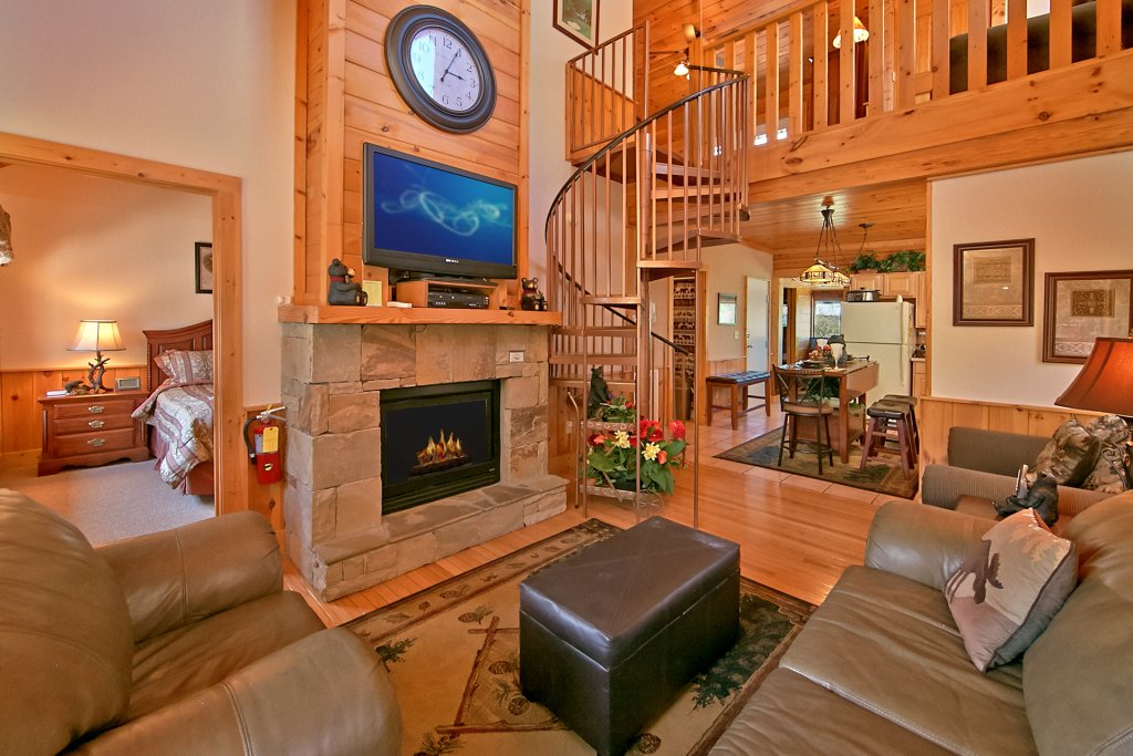 Photo of a Pigeon Forge Cabin named Golfers Getaway #290 - This is the nineteenth photo in the set.