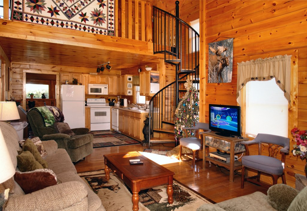 Photo of a Pigeon Forge Cabin named Almost Bearadise #289 - This is the third photo in the set.