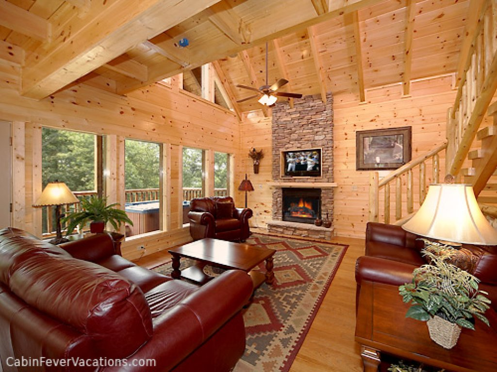 Photo of a Gatlinburg Cabin named Buckwild - This is the sixth photo in the set.