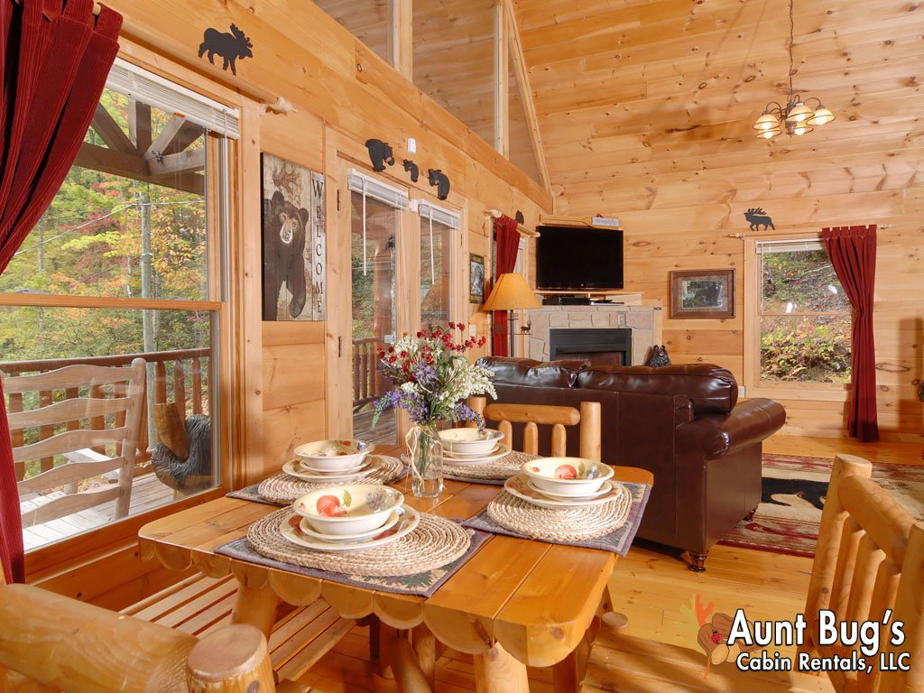 Photo of a Gatlinburg Cabin named A Secluded Bearadise #247 - This is the second photo in the set.