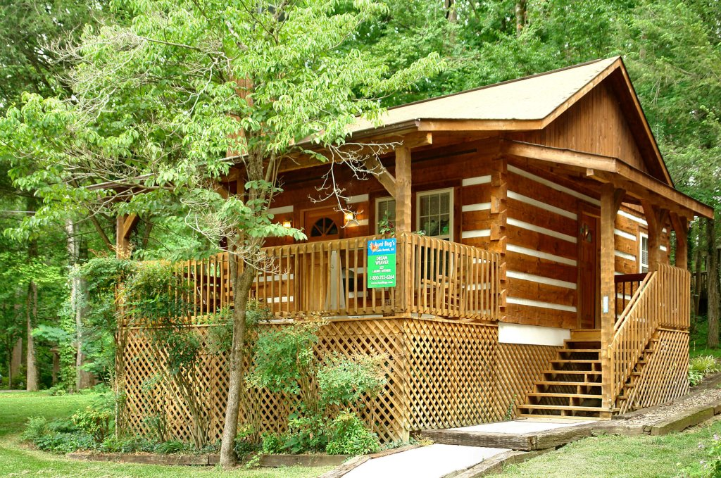 Photo of a Gatlinburg Cabin named Cuddle Inn #1529 - This is the first photo in the set.