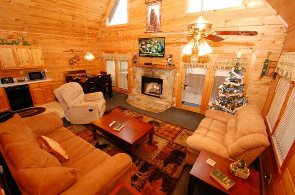 Photo of a Gatlinburg Cabin named Beary Blessed #292 - This is the sixth photo in the set.