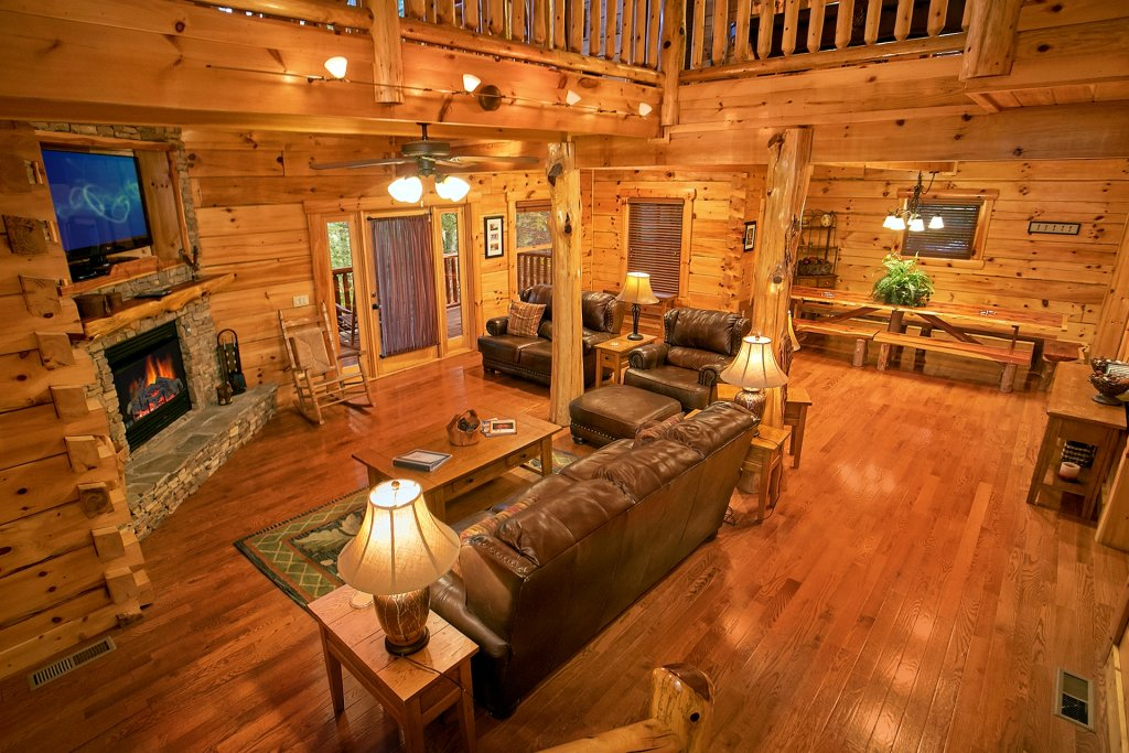 Photo of a Pigeon Forge Cabin named Pinnacle Vista - This is the fourteenth photo in the set.