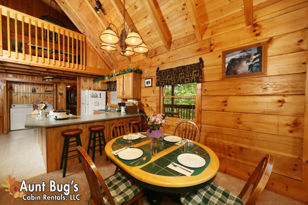 Photo of a Gatlinburg Cabin named A Mountain Lair #1631 - This is the fifth photo in the set.
