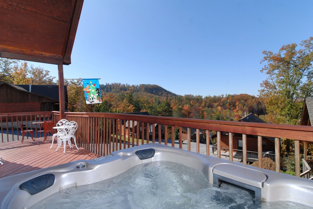 Photo of a Pigeon Forge Cabin named Miss Bee Haven #236 - This is the fourth photo in the set.