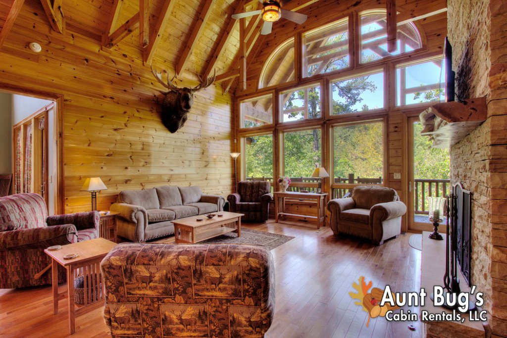 Photo of a Pigeon Forge Cabin named Birds Creek Mansion #650 - This is the one hundred and forty-second photo in the set.