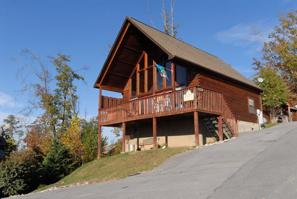 Photo of a Pigeon Forge Cabin named Miss Bee Haven #236 - This is the first photo in the set.