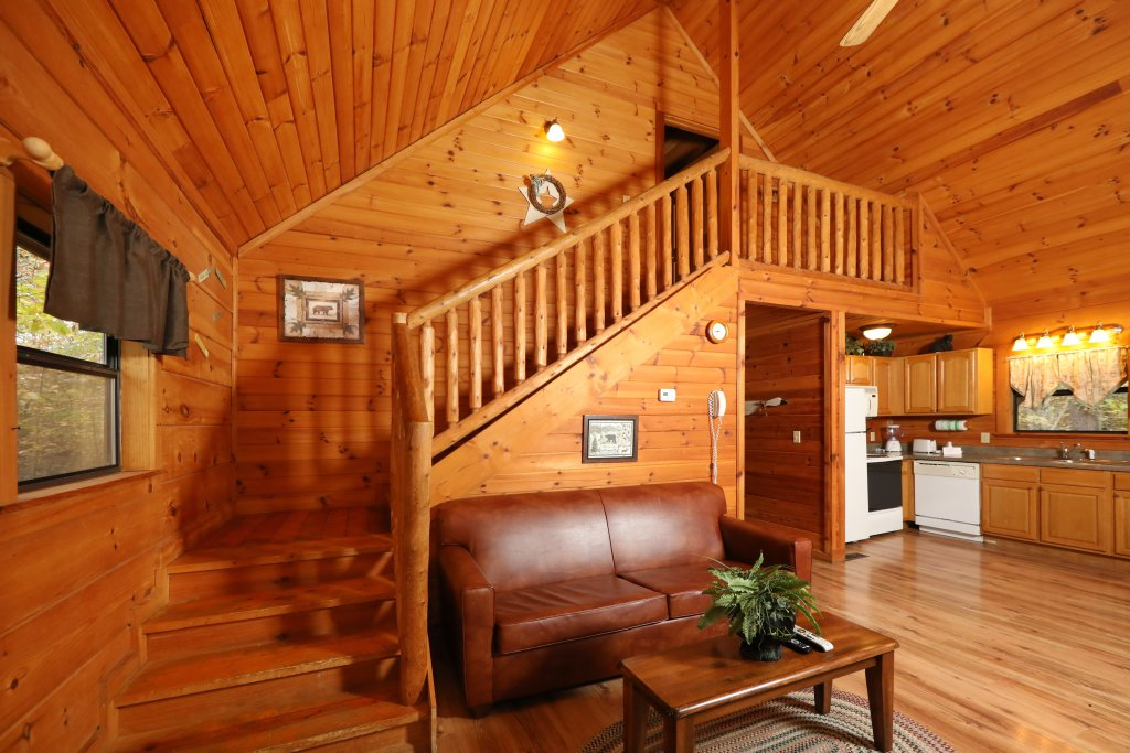 Photo of a Pigeon Forge Cabin named Beneath The Stars #220 - This is the twenty-second photo in the set.