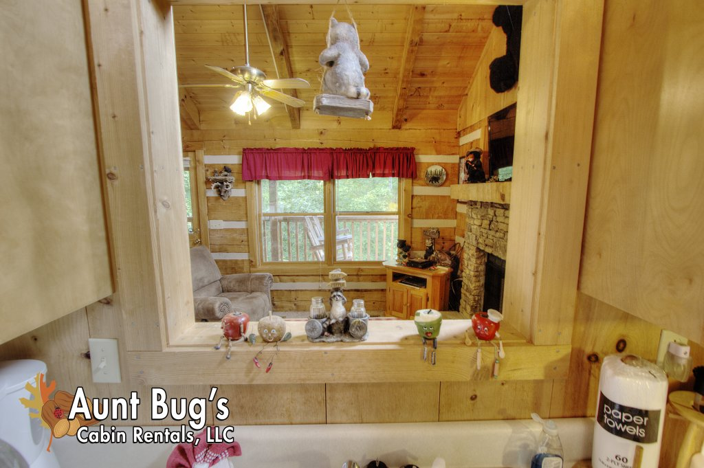 Photo of a Pigeon Forge Cabin named Apple Bear View #116 - This is the twenty-fourth photo in the set.