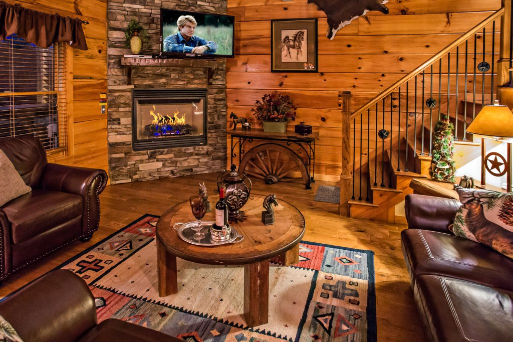 Photo of a Pigeon Forge Cabin named Majestic Forest - This is the third photo in the set.
