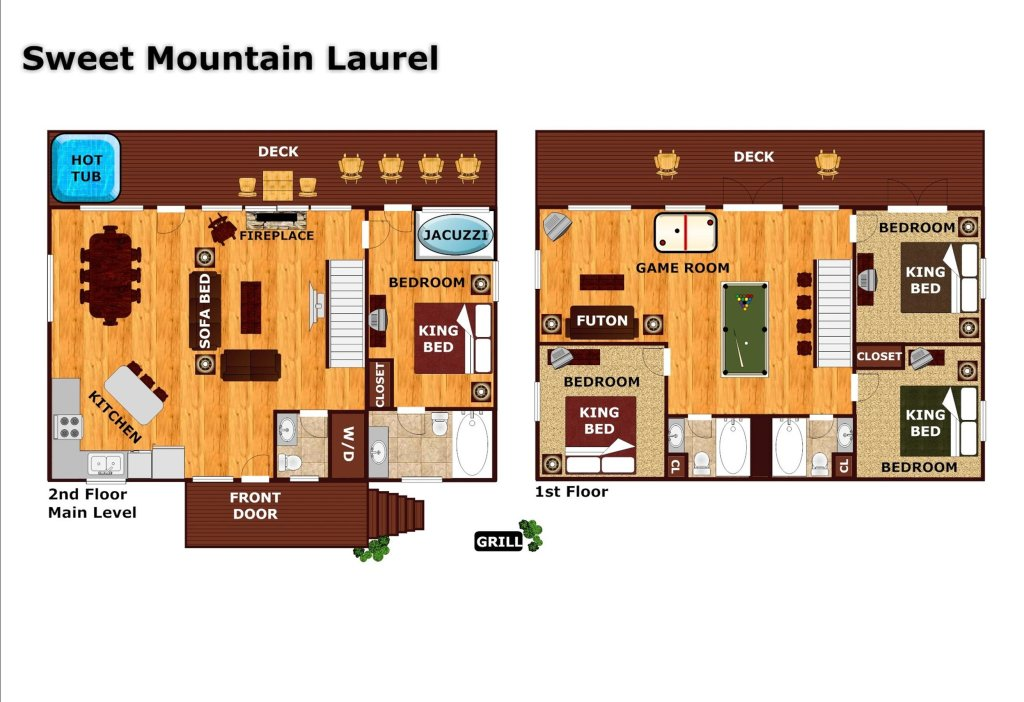 Photo of a Pigeon Forge Cabin named Sweet Mountain Laurel #403 - This is the twenty-sixth photo in the set.