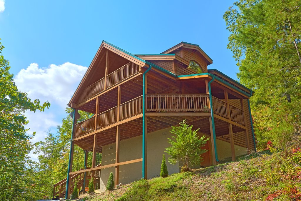 Photo of a Pigeon Forge Cabin named Heavenly Hideaway #256 - This is the twentieth photo in the set.