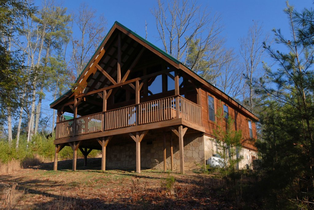 Photo of a Pigeon Forge Cabin named Wow !! What A Cabin #255 - This is the first photo in the set.