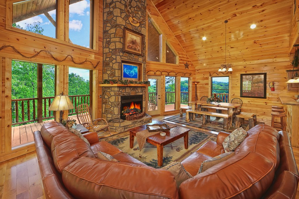Photo of a Gatlinburg Cabin named Knotty & Nice - This is the eighth photo in the set.