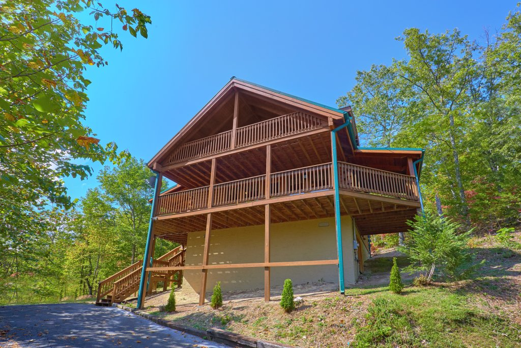 Photo of a Pigeon Forge Cabin named Heavenly Hideaway #256 - This is the seventh photo in the set.