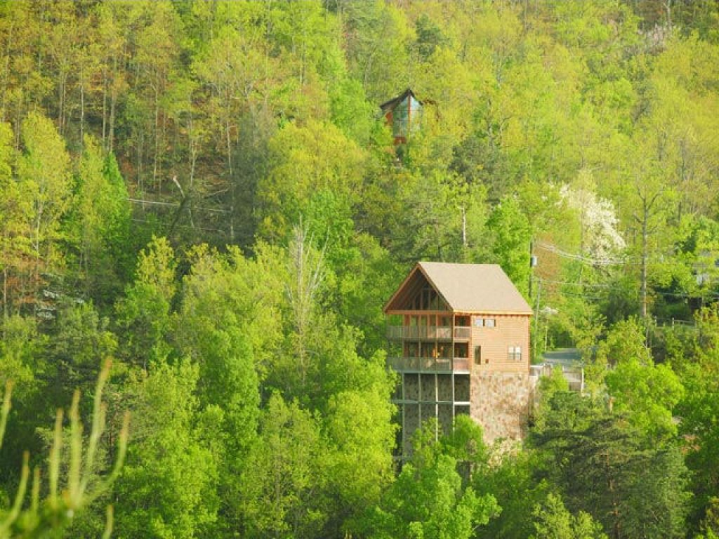 Photo of a Pigeon Forge Cabin named Evening View #133 - This is the twenty-sixth photo in the set.