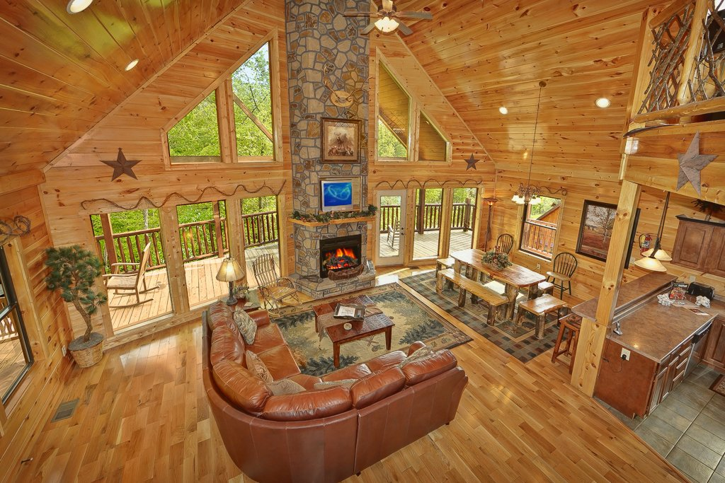 Photo of a Gatlinburg Cabin named Knotty & Nice - This is the tenth photo in the set.