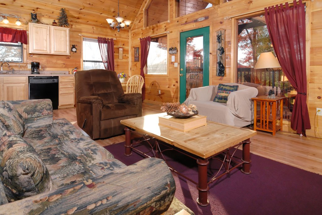 Photo of a Pigeon Forge Cabin named Wow !! What A Cabin #255 - This is the eleventh photo in the set.