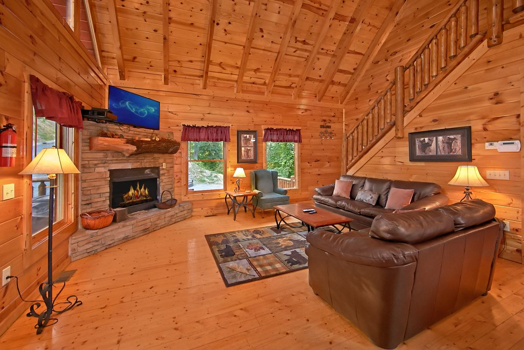 Photo of a Pigeon Forge Cabin named Breathtaking Views - This is the thirtieth photo in the set.