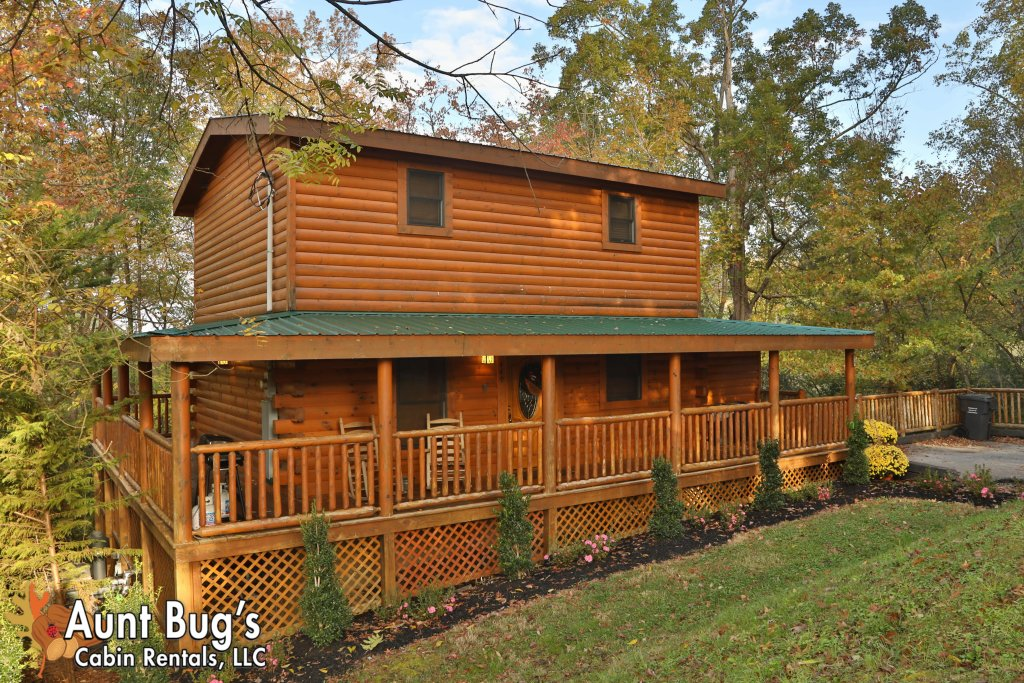 Photo of a Pigeon Forge Cabin named Skinny Dippin' #261 - This is the third photo in the set.