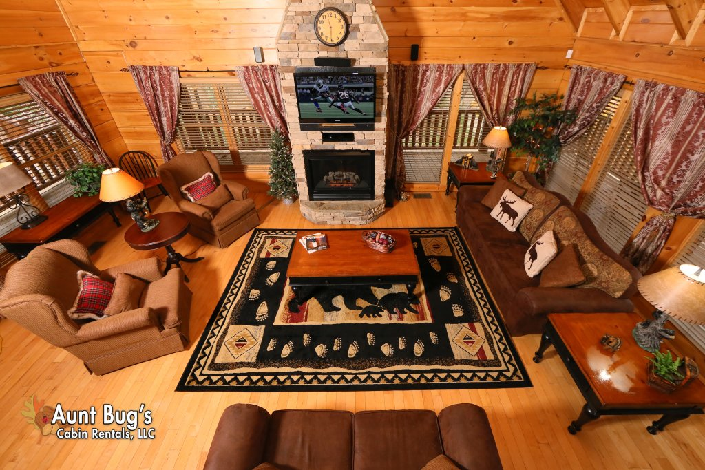 Photo of a Pigeon Forge Cabin named Absolutely Wonderful #304 - This is the fifth photo in the set.