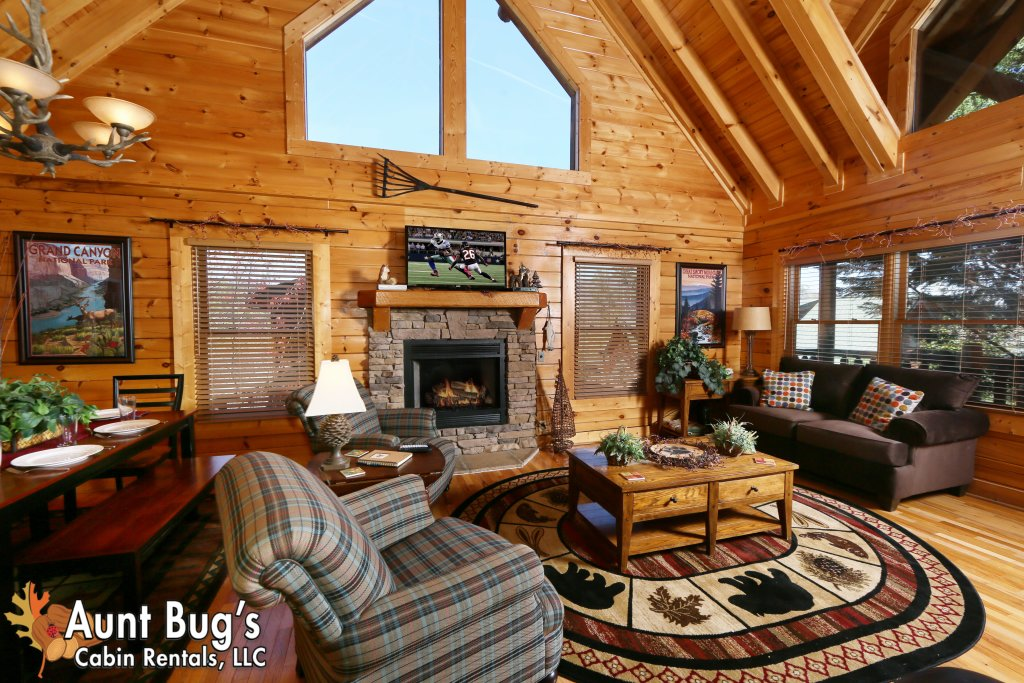 Photo of a Pigeon Forge Cabin named Big Daddy Bear #545 - This is the fifth photo in the set.