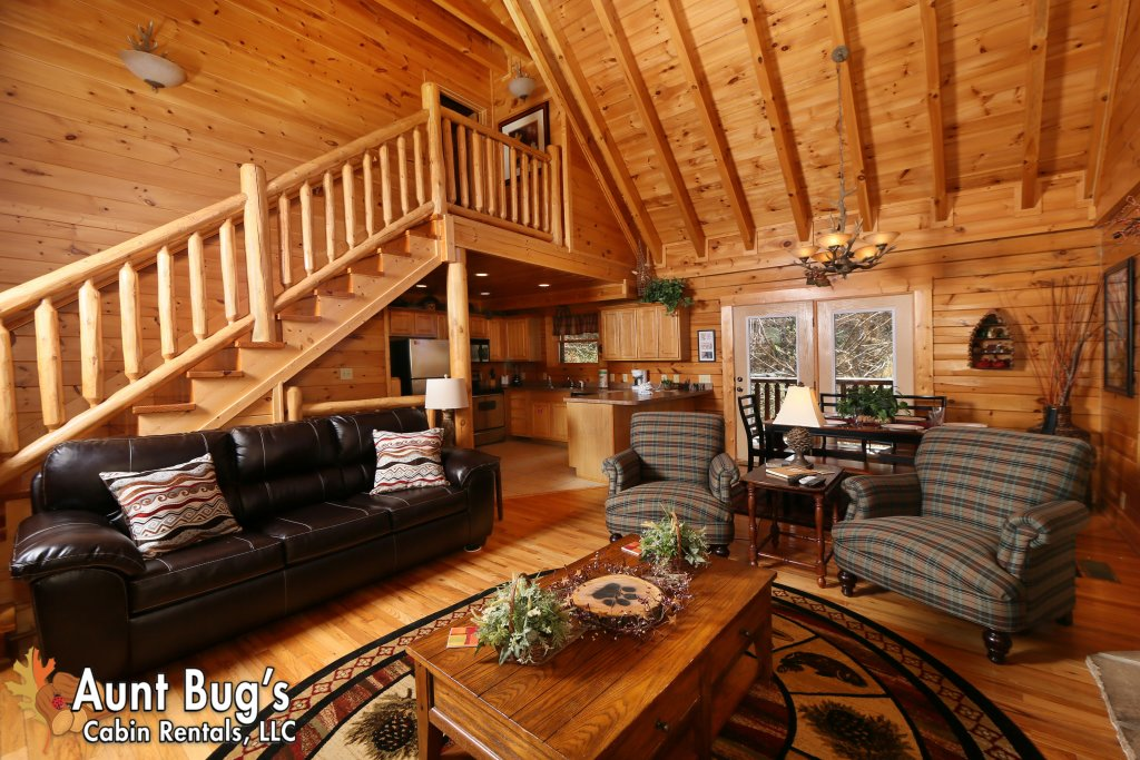 Photo of a Pigeon Forge Cabin named Big Daddy Bear #545 - This is the ninth photo in the set.