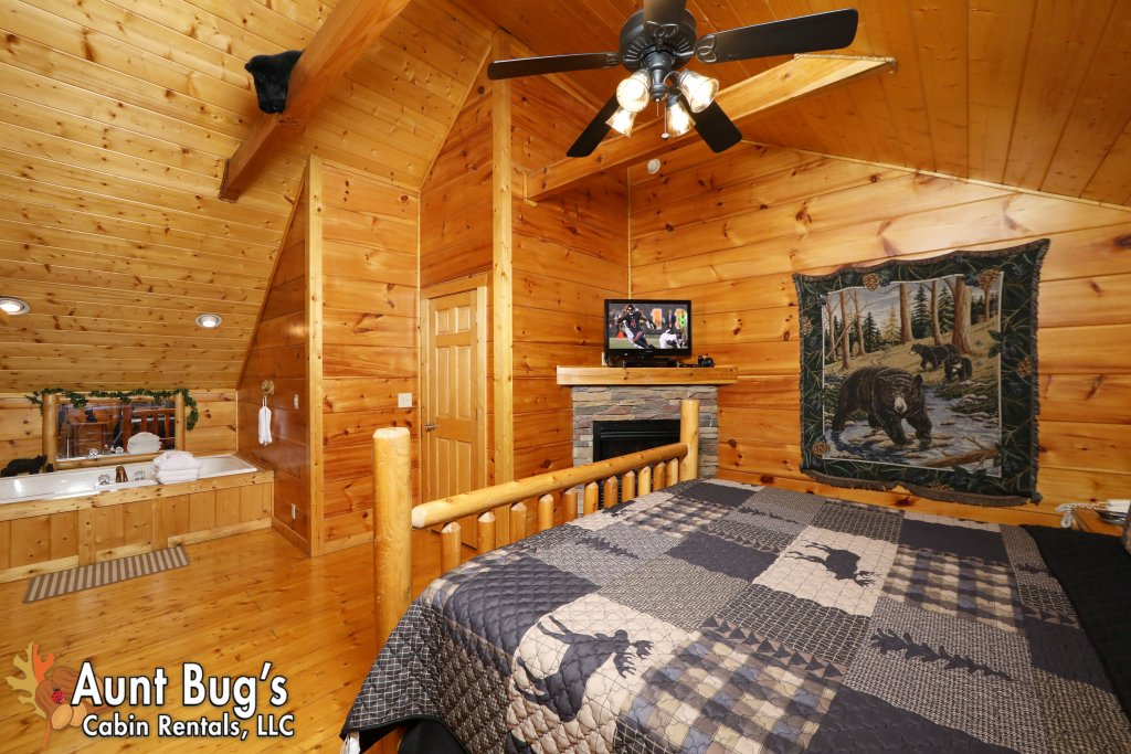 Photo of a Pigeon Forge Cabin named Black Bear Hibernation #2825 - This is the nineteenth photo in the set.