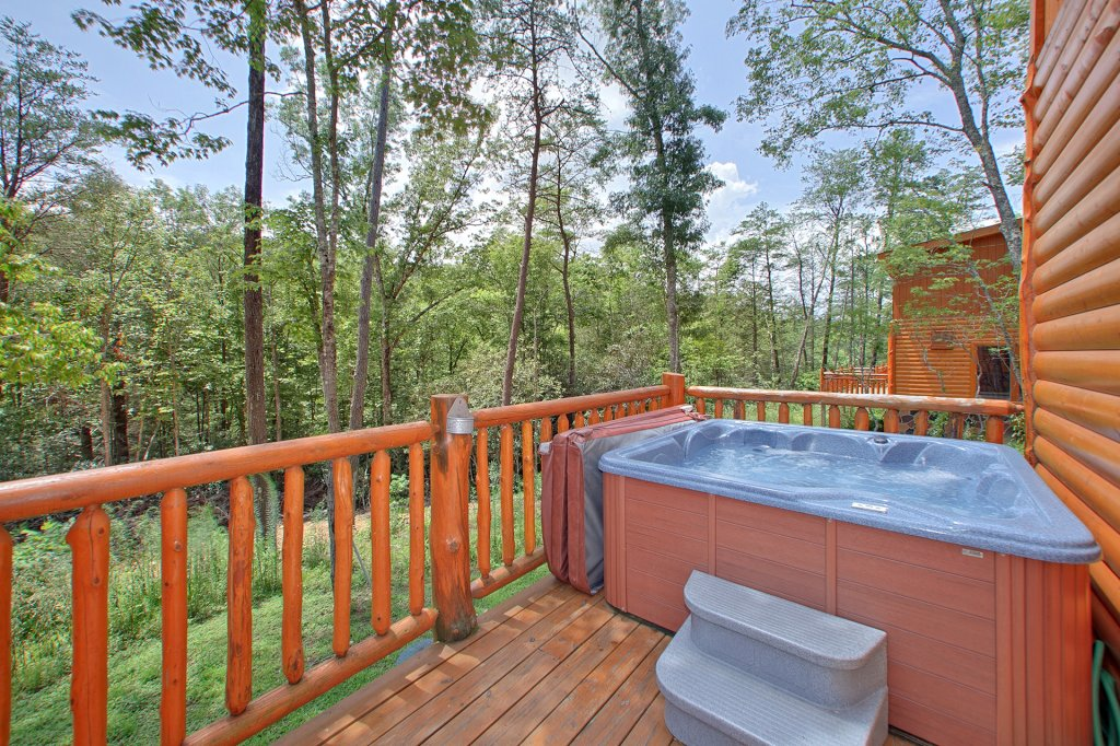 Photo of a Gatlinburg Cabin named Pool Movie 1 - This is the second photo in the set.