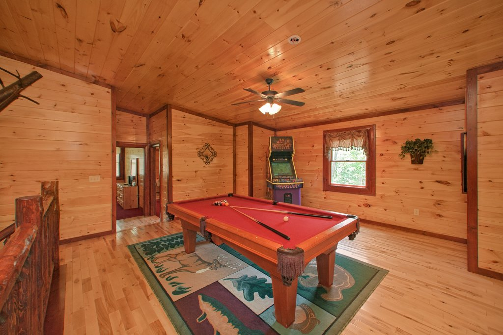 Photo of a Gatlinburg Cabin named Pool Movie 1 - This is the fourth photo in the set.