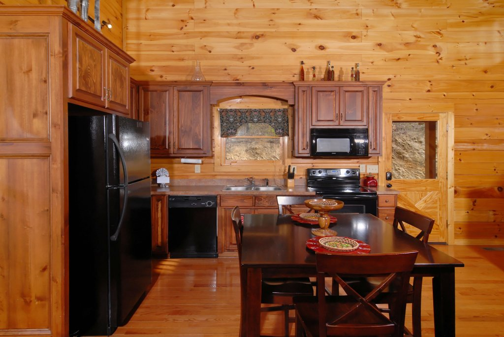 Photo of a Pigeon Forge Cabin named Camelot #266 - This is the fourth photo in the set.