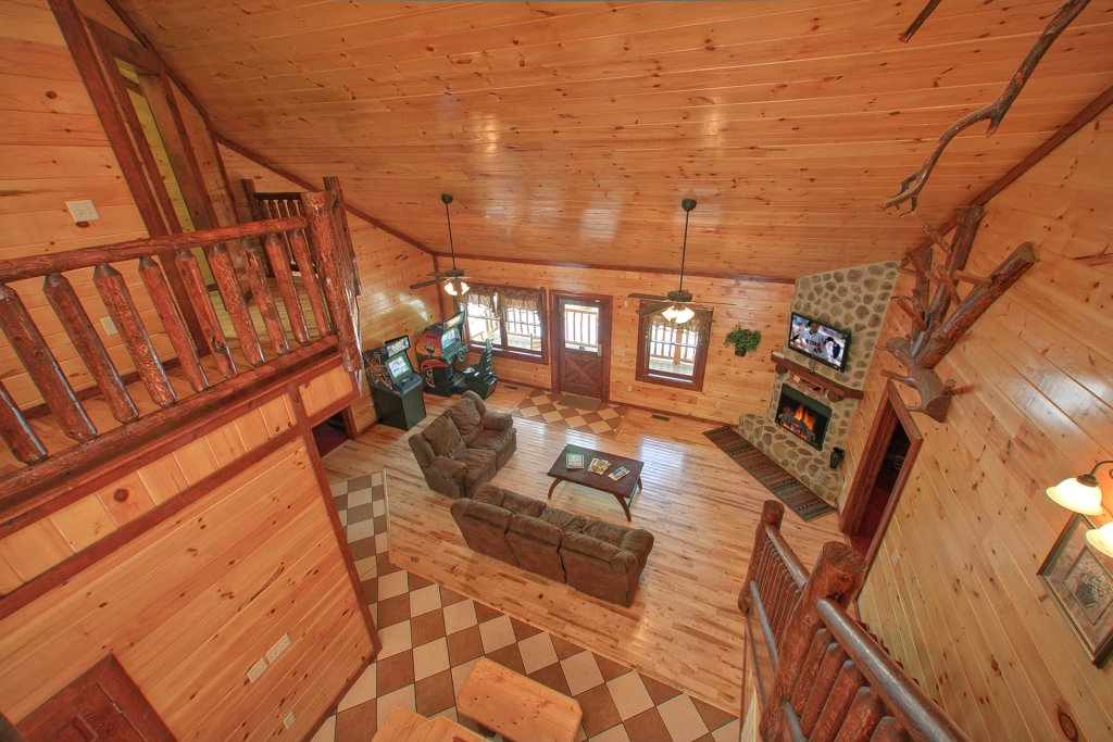 Photo of a Gatlinburg Cabin named Pool Movie 1 - This is the sixth photo in the set.
