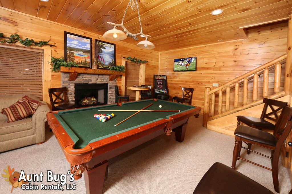 Photo of a Pigeon Forge Cabin named Big Daddy Bear #545 - This is the forty-first photo in the set.