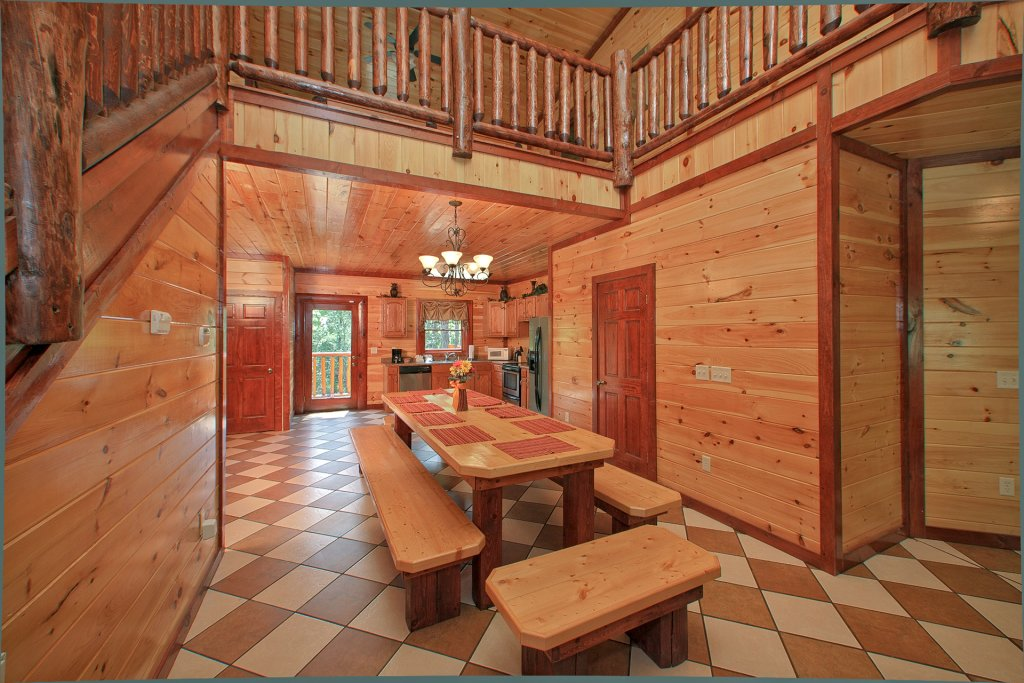 Photo of a Gatlinburg Cabin named Pool Movie 1 - This is the eighth photo in the set.