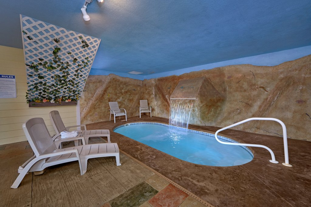 Photo of a Gatlinburg Cabin named Pool Time Paradise - This is the first photo in the set.