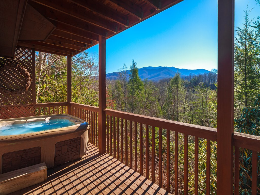Photo of a Gatlinburg Cabin named Annie's Smoky View - This is the first photo in the set.