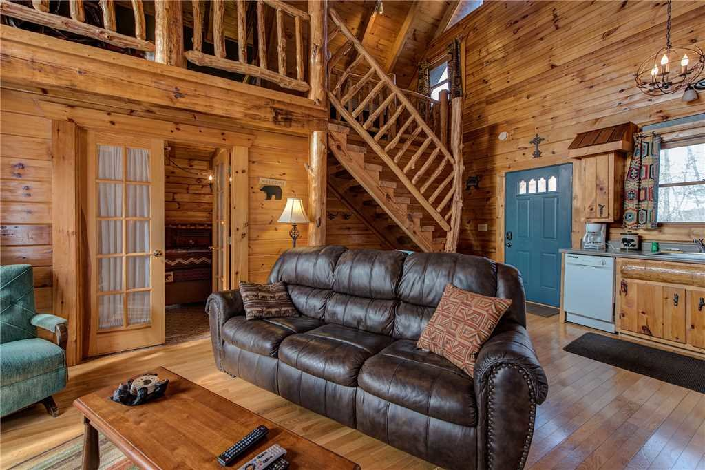 Photo of a Gatlinburg Cabin named Peaceful Mountain Gem - This is the first photo in the set.